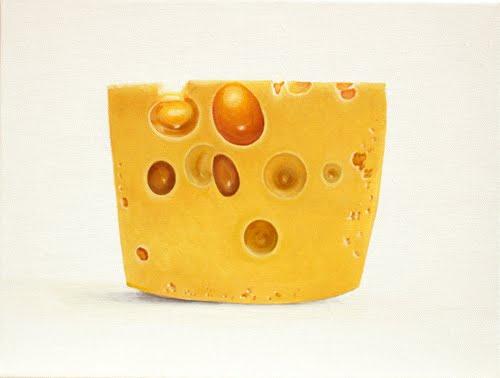 'formatge' oli sobre tela 30 x 40cm.